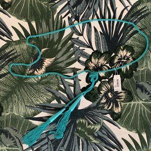 Kendra Scott Adjustable Length Tassel Necklace